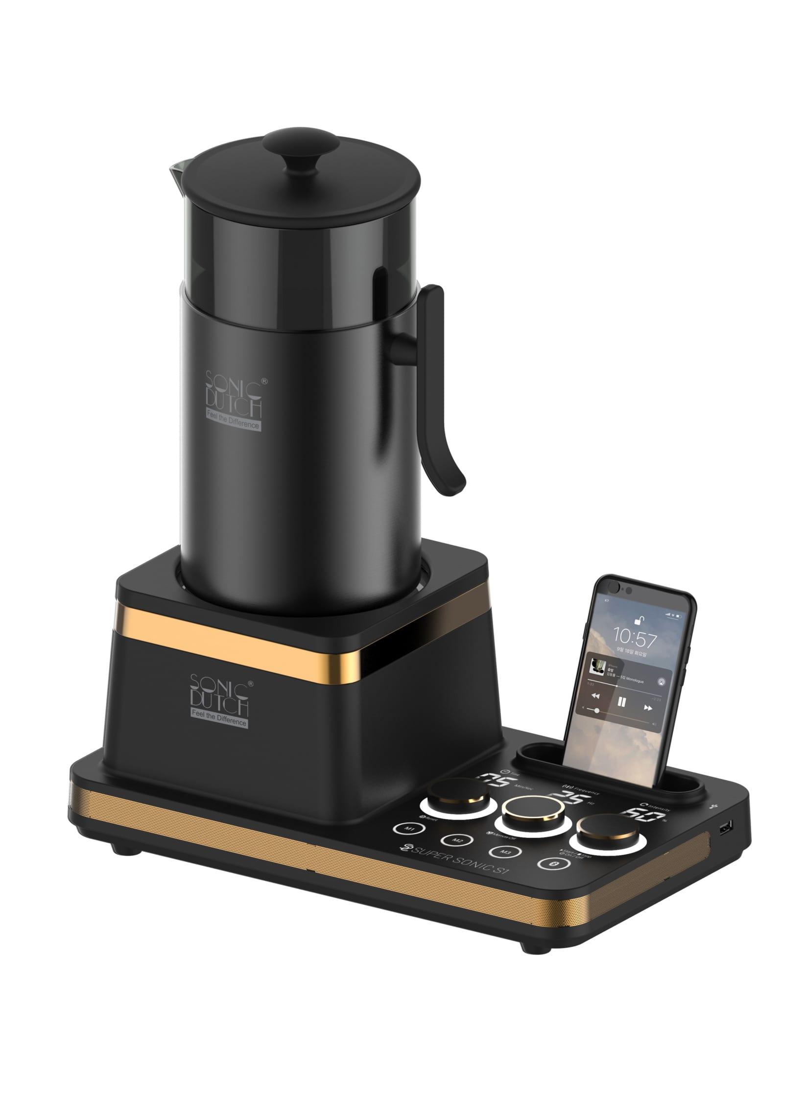 【音波式水出しコーヒーメーカー】各国の賞を総なめした5分で作れるSONIC DUTCH(ソニックダッチ)